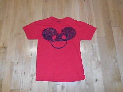 Deadmau5 Band T-Shirt EDM Electric Dance Music Concert Tour Dead Mouse Mens Sm