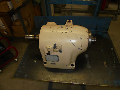 Hardinge Hlv-h Headstock Complete As Shown 2-316 Threaded Spindle