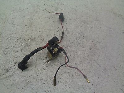 91 1991 Yamaha EX 570 EX570 Exciter Snowmobile Body Motor Solenoid Electric