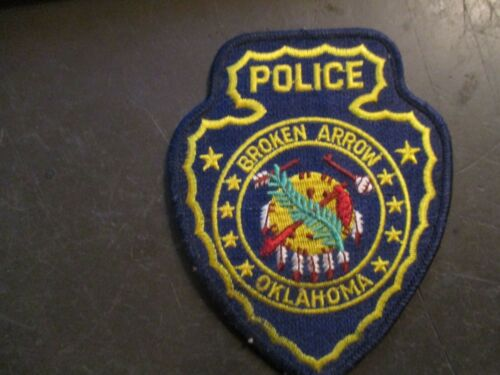 Broken Arrow Oklahoma Police Patch