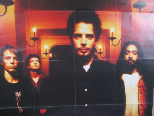 Vintage Original Soundgarden Group Photo Poster Rare