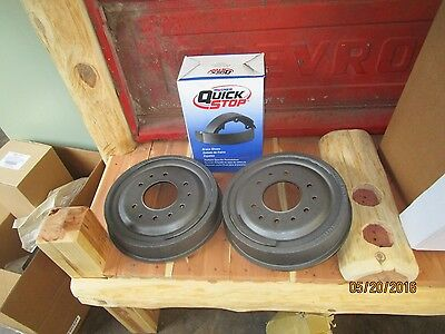 63 64 65 66 67 68 69 70 CHEVY PICK UP TRUCK C10  rear BRAKE DRUMS WITH SHOES
