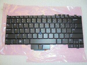 NEW Genuine OEM DELL Latitude E4300 US ENGLISH Keypad Backlight Keyboard KR737