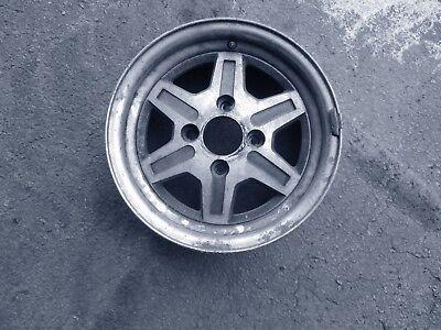 1983 NISSAN 280ZX 14 X 6  SILVER 6 SPOKE WHEEL 1983 Nissan 280zx Wheel