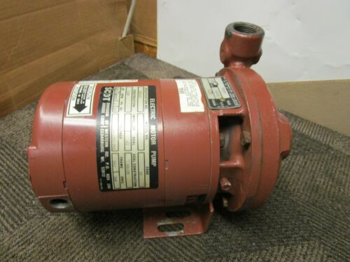 "SCOT AE211 3002K1 1-1/4""X1"" CENTRIFUGAL PUMP 1/2HP 208-230/260V 3PH 3450RPM"