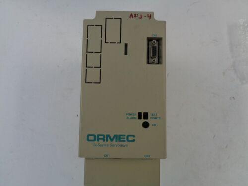 USED ORMEC SAC-D08D/I SERVO DRIVE