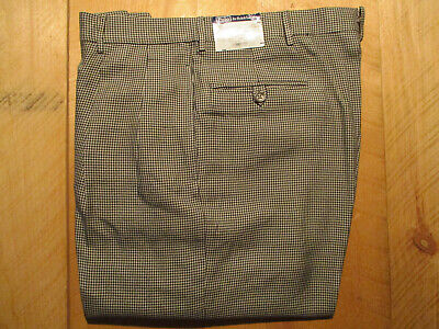 NWT's $595 Polo Ralph Lauren100% Silk Twill Pleated Dress Trouser Italy MFG 36