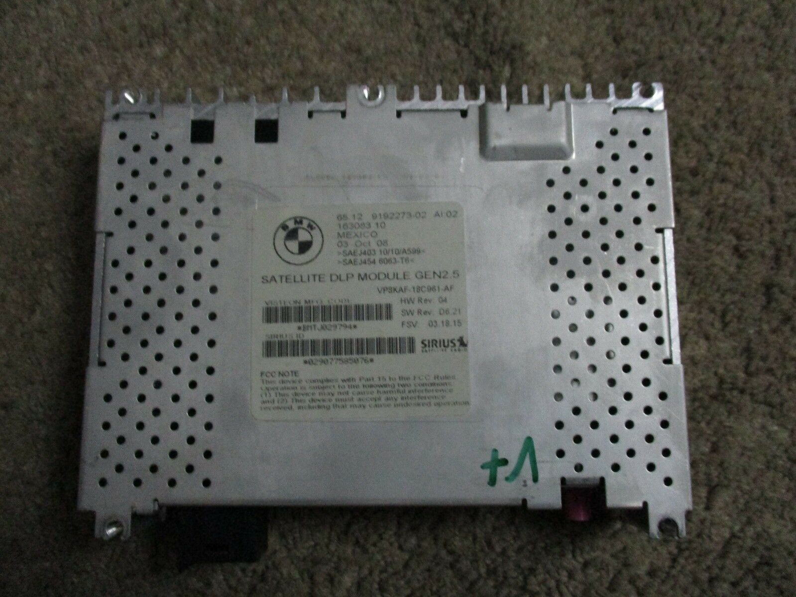 Used Bmw M6 Engine Computers For Sale 2014 Fuse Box 2007 2011 535 X5 X6 X3 M5 Mini Cooper Sirius Satellite Dlp Module