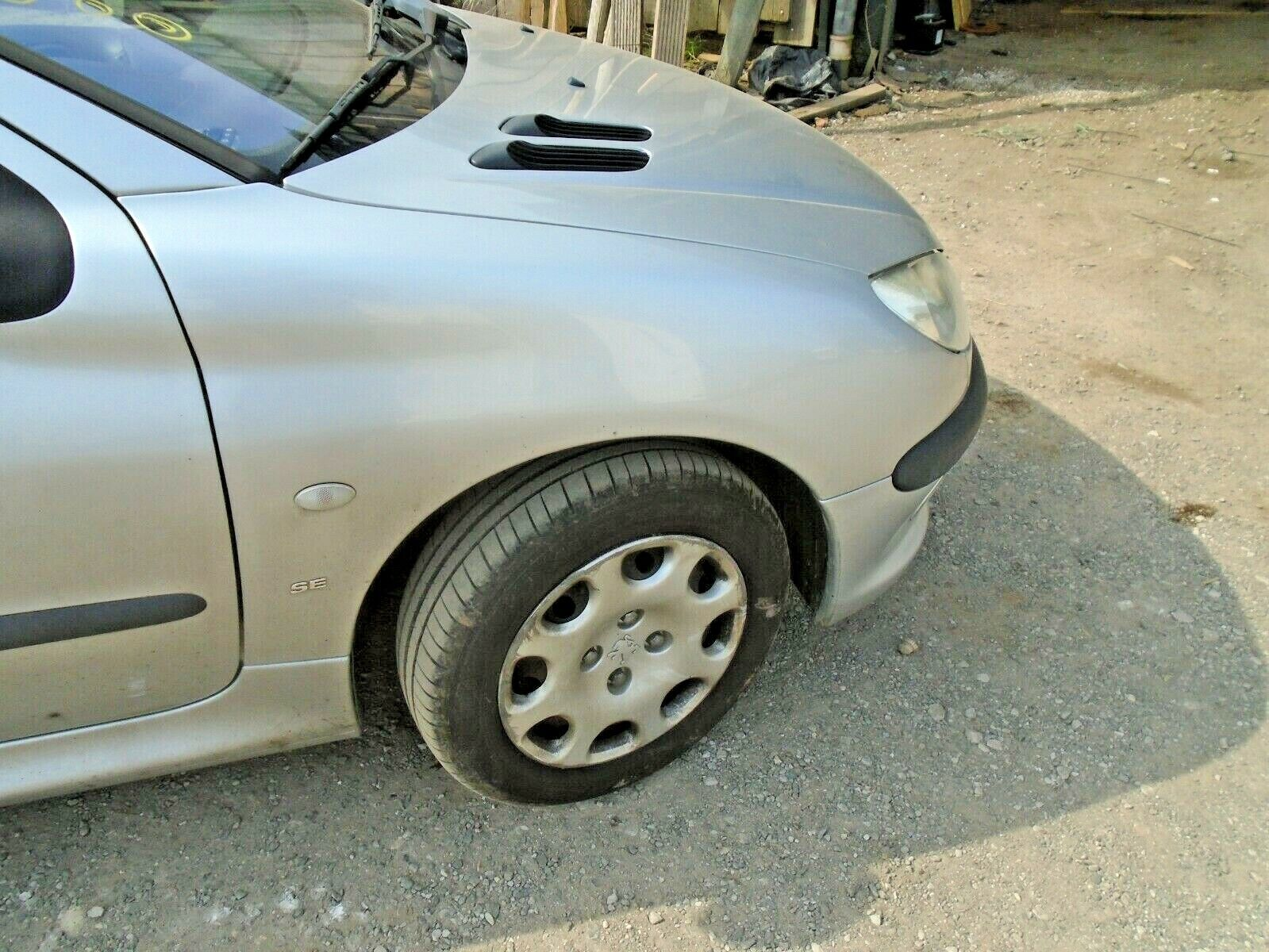 PEUGEOT 206 1998-2009 FRONT WING PAINTED ANY COLOUR RIGHT HAND O//S