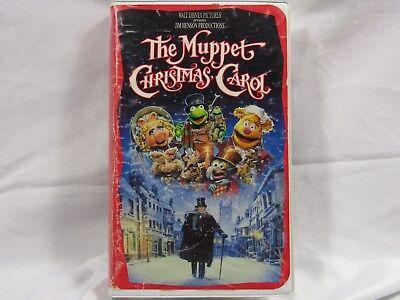 The Muppet Christmas Carol Disney/Henson VHS Home Video Family Fun Gift