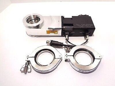 Vat 01234-ka24-avu1 Vacuum Gate Valve 2 With Clamps