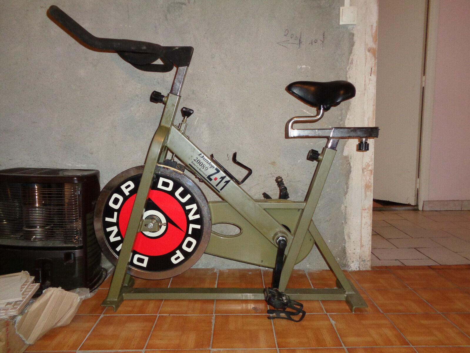 Vélo de spinning - dunlop z-11 - vélo d'appartement - entraînement vélo route