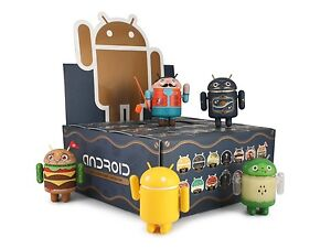 NEW-GOOGLE-ANDREW-BELL-DUNNY-ANDROID-MINI-COLLECTIBLE-SERIES-4-FULL-CASE