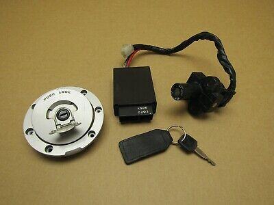 Honda NT650 Bros 1988 23,042 miles ECU ignition lockset (4312)