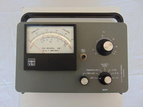 YSI Model 33 SCT Meter