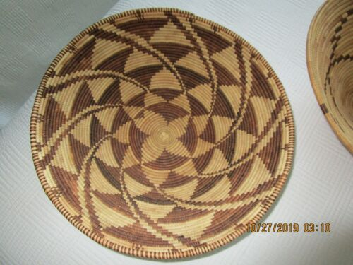"""Botswana Basket - Vintage Museum Quality - 13-1/2"""" - Excellent Condition"""