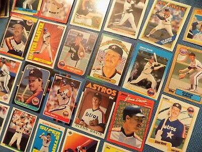 Glenn Davis Baseball Card Lot of 20 Different w/ RCs Houston Astros