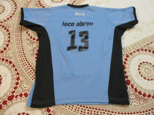 URUGUAY NATIONAL FOOTBALL TEAM LOCO ABREU #13 JERSEY YOUTH SM SEBASTIAN