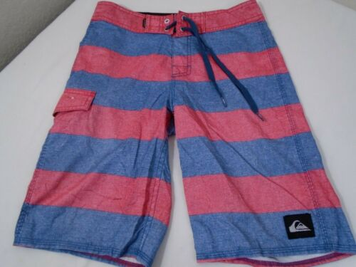 Boys Quicksilver Board Shorts Youth Size 26   #0656
