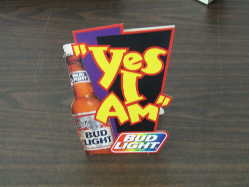 BUD LIGHT TABLE TENT 2 SIDED  RAINBOW LGBTQ  7