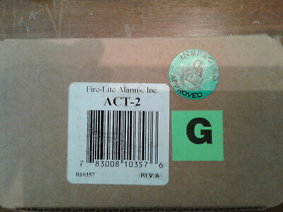 New Fire-lite Act-2 Audio Coupling Signal System Control Factory Static Sealed
