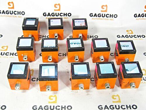 IFM O1D100 O1DLF3KG Photoelectric Laser Distance Sensor, 18~30V DC, <150mA