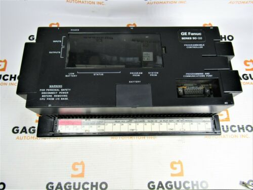 GE Fanuc IC692MDR541C Controller, 24VDC IN/ Relay