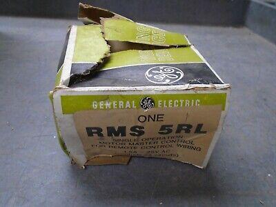 Ge Rms5rl Rsm 5rl Single Operation Motor Master Controller Controls 25 Circuits