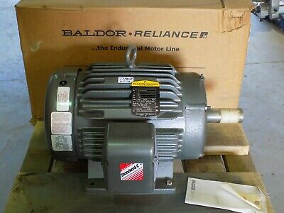 New In Box Baldor 15hp Standard E Electric Motor 07h203x929h3  380v 254t