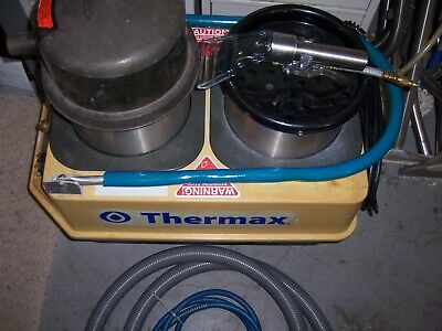 Thermax Extractor Heated Carpet Cleaner Cp-3-2 Auto Detailing