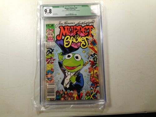 Muppet Babies #10, CGC 9.8,Green Label, Signed Sketched Guy Gilchrist, Newsstand