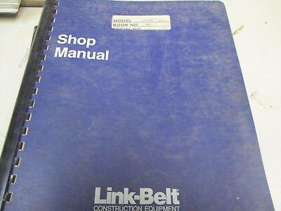 Link Belt Ls-128 Crane Repair Shop Manual