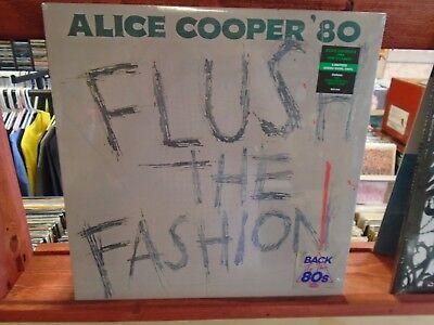 Alice Cooper Flush The Fashion LP NEW GREEN SWIRL Colored vinyl