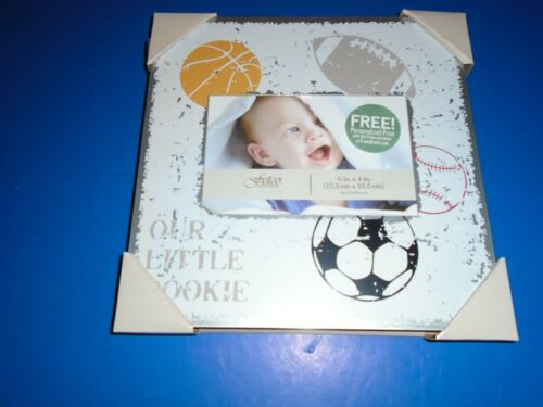 Our Little Cookie Fetco Baby Sports Theme Frame 6 X 4 NEW
