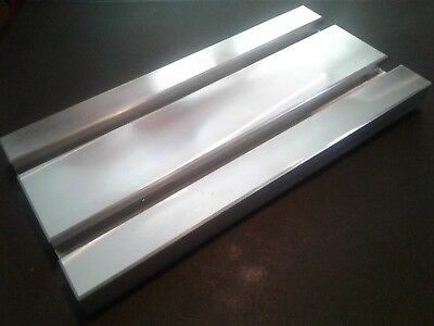 Sacrificial Aluminum T-slot Plate T-slotted Fixture Table - 6 X 12 X 1