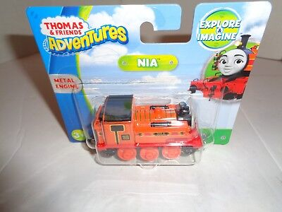 Fisher Price Thomas and Friends Adventures Metal Nia New in Package