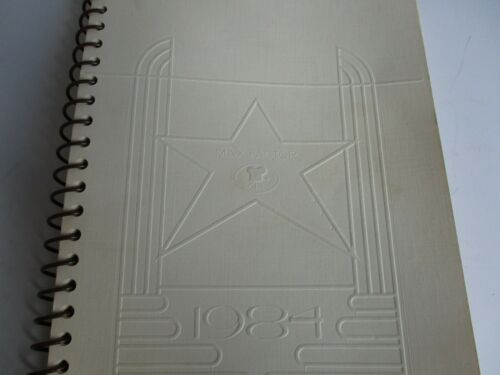 Max Factor 75th Anniversary Beautiful Legend Booklet/Calendar 1984