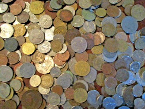 3 Pounds of World Foreign Coins- Free Shipping in US!