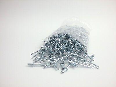 Steel Pop Rivets All Steel Blind Rivet 18 X 18 Grip Qty 260