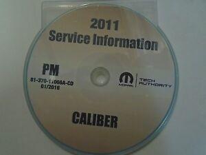 Dodge caliber repair manual   ebay.