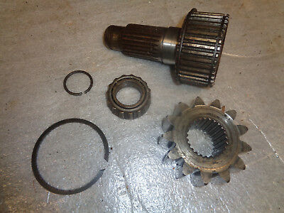 John Deere 1010 Crawler Dozer. Final Drive Shaft Pinion Gear