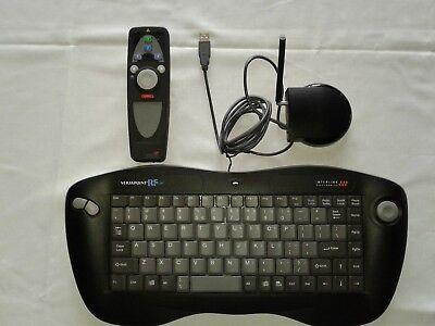 VersaPoint RF Interlink VP6210 Wireless Keyboard/Mouse/Laser Point Set