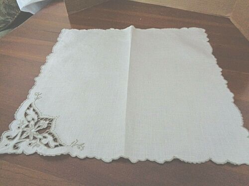 Collection of 10 Matching Antique / Vintage  napkins