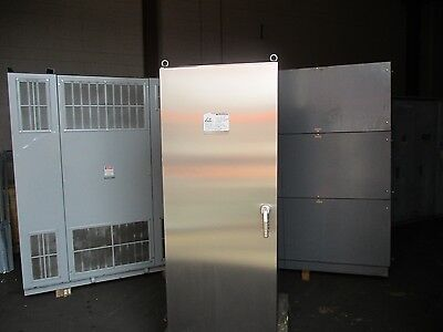 Hoffman Stainless Steel Enclosure Fs200884shp0 Size 82 X 32 X 31 New Surplus