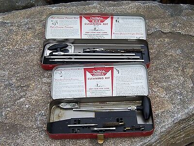 Vintage Outers Gunslick Revolver Kit Pistol 22 cal & 30 Cal. Gun Cleaning Kit