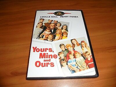 Yours, Mine and Ours (DVD 2001 Fullscreen) Lucille Ball,Henry Fonda Used