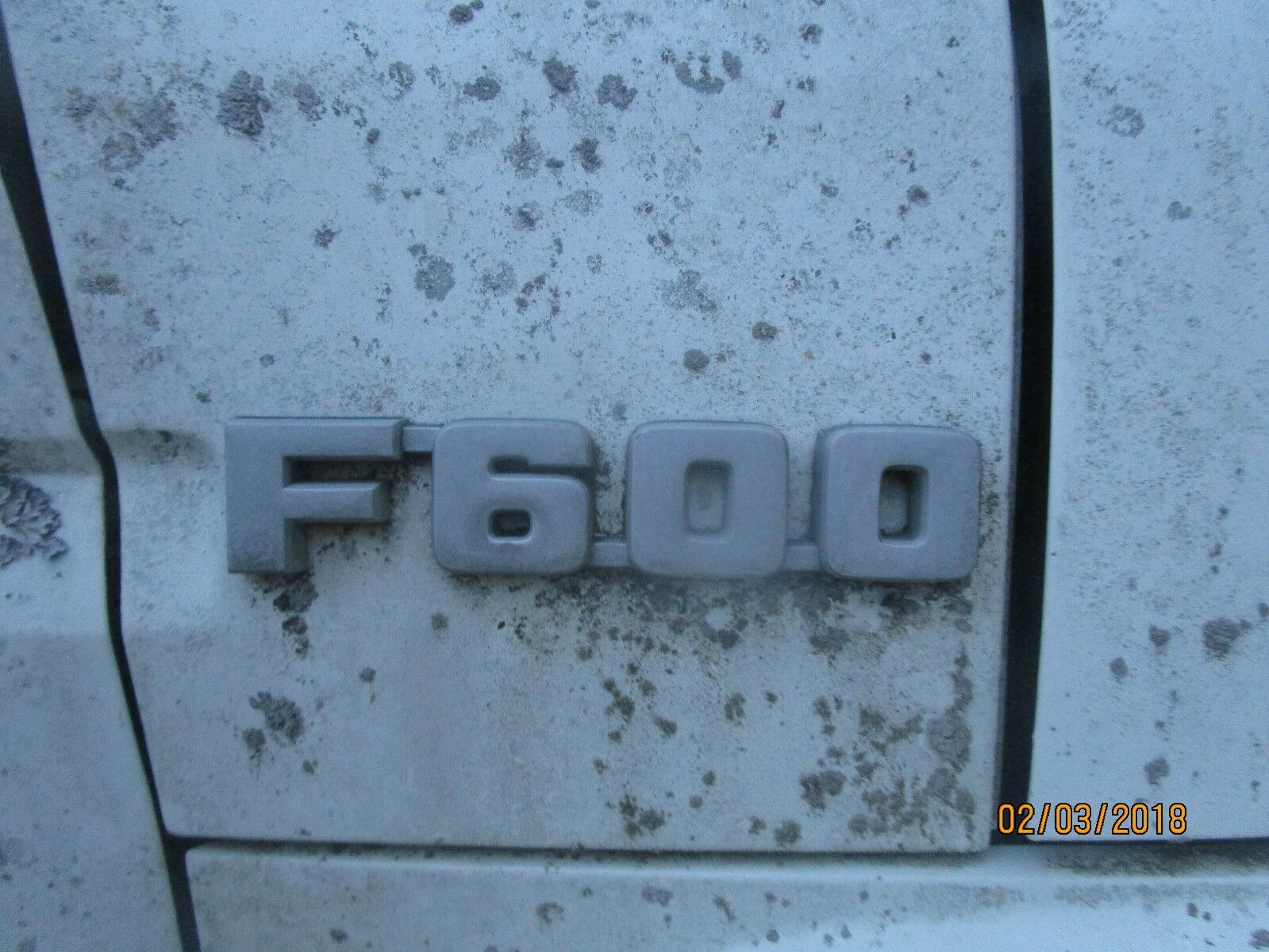 Used Ford F600 Exterior Parts For Sale 1954 Dump Truck 1980 1991 Front Emblem One