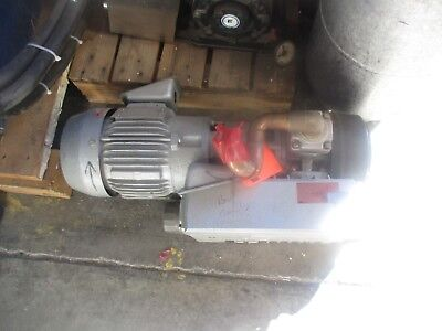 Busch RA0025.E5G6.1001 Pump with Toshiba: BY154FLB2UMW Motor.  For Parts <