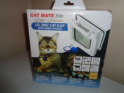 "Cat Mate ""Elite"" Super Selective Electronic Cat Door~NIB~FREE SHIPPING"