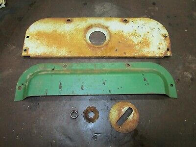 Oliver 1650 Rear Fender Trim Panel Head Light Mouting Assembly Antique Tractor